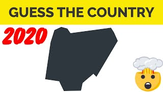 Country Shape Quiz Answers June 2020 - Guess The Country Shape Quiz