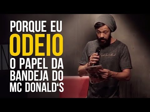 Odeio O Papel Do McDonald's - NANDO VIANA