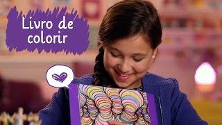 Criando livro de colorir com a Lívia Maschio ❤ Mundo da Menina thumbnail