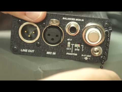 Sound Devices MM-1 Portable Preamp