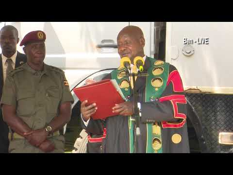 Museveni's tough speech at Makerere University Graduation 2019, warning striking lectures