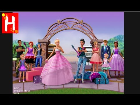 """Barbie and the diamond castle """"two voice, one song"""" + download."""