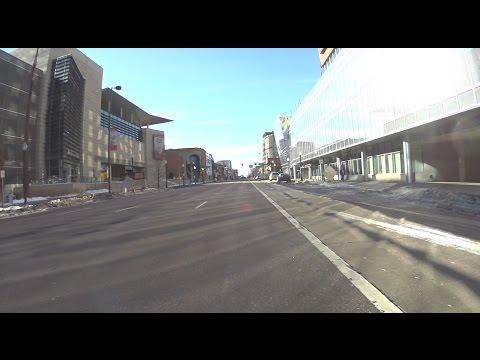 Denver Broadway ride 6 days after a snow