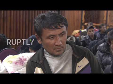 Russia: Temporary shelter set up for survivors of Vladimir Region train-bus collision