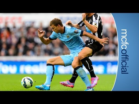 DZEKO ON INCREDIBLE BACKHEEL ASSIST | Newcastle 0-2 Man City