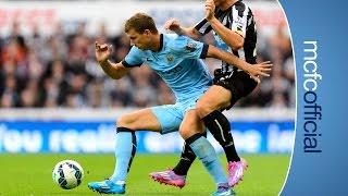 DZEKO ON INCREDIBLE BACKHEEL ASSIST | Newcastle 0-2 Man City