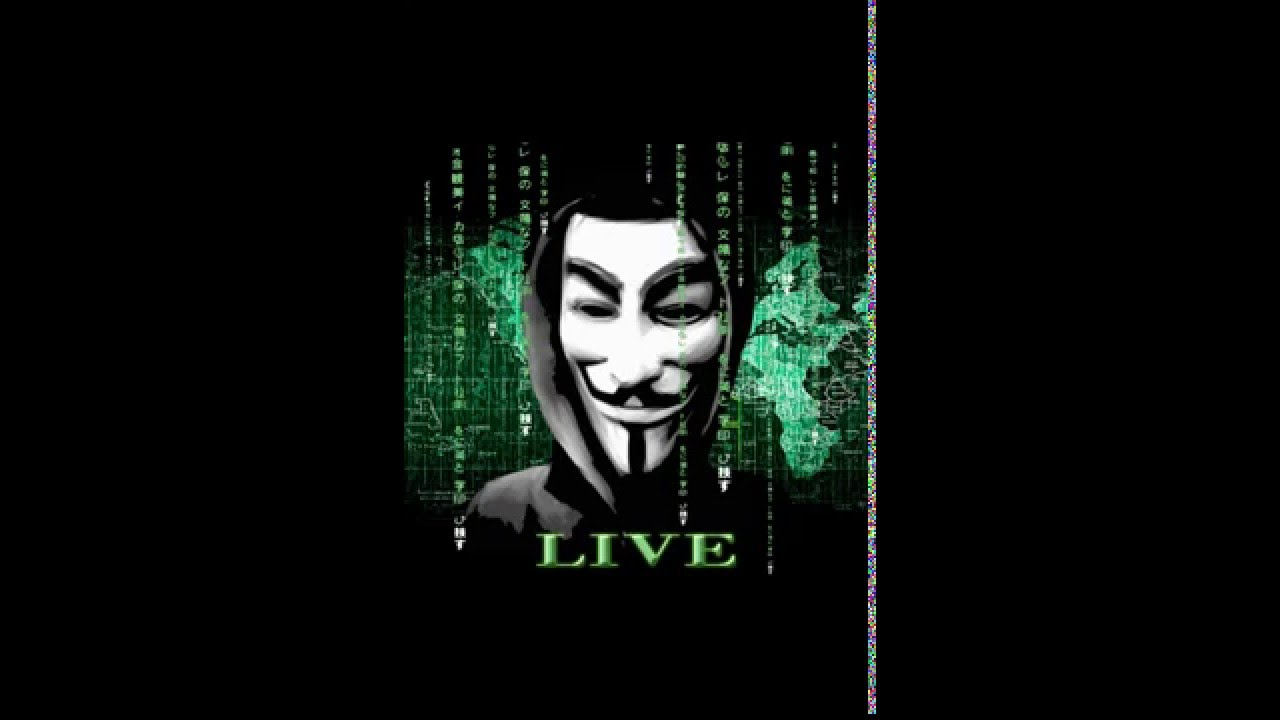 Anonymous Parallax Live Wallpaper - YouTube