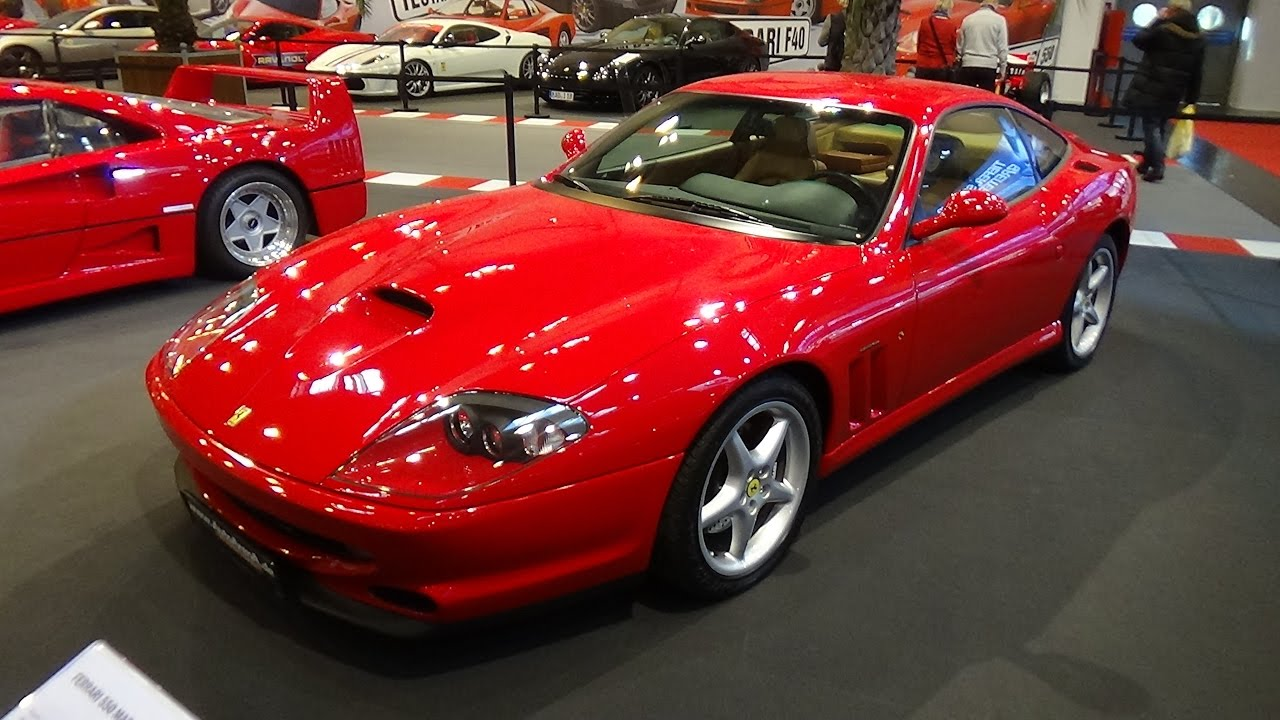1996 2001 ferrari 550 maranello essen motor show 2016. Black Bedroom Furniture Sets. Home Design Ideas