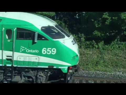 GO Transit Lakeshore Scarborough-Oshawa 1080p
