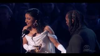 Cardi Bs FULL ACCEPTANCE SPEECH-FIRST EVER GRAMMY WIN 2019 HD