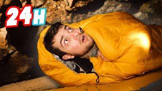 Une nuit 400 mètres sous terre 😲 (24H dans une grotte)
