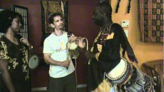Talking Drum Lesson, TDL 001, PART A.