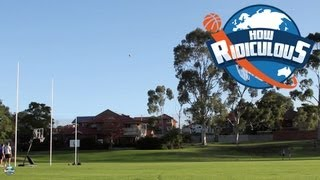 AFL Trick Shots - How Ridiculous