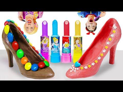 보람이와 탕이의 먹는 립스틱 사탕 챌린지 Lip Stick Candy Make-up Challenge Boram Yummy [보람 야미]