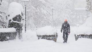 Снег в Кыргызстане. Погода в СНГ