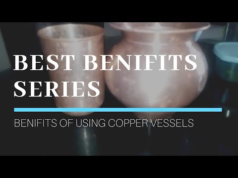 #Series || Best Benefits || Benefits of using copper vessels || How to clean copper vessels ||
