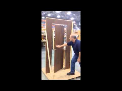 Space Saving Door morryde space saving door hinge - youtube