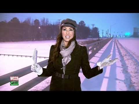 WCCB, Covering the Storm of the Century!