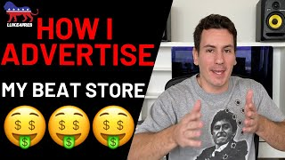 How To Sell Beats Online   How I Advertise My Beat Store (2020)