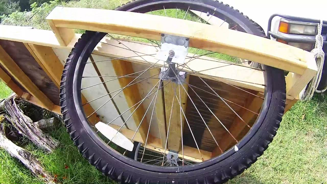 Bike Camper Trailer Mini Bicycle Camper Update More Youtube