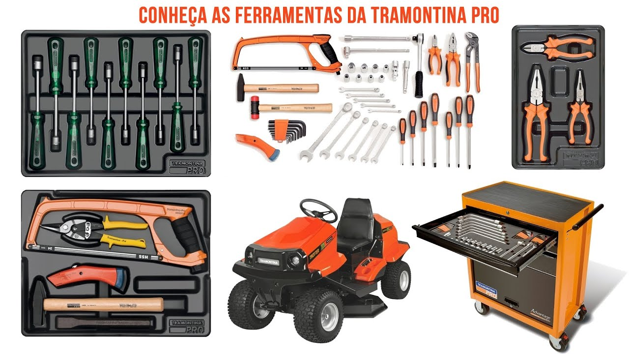 Tramontina Pro. Veja as Ótimas Ferramentas. Brasutil   #BB3210 1920x1080