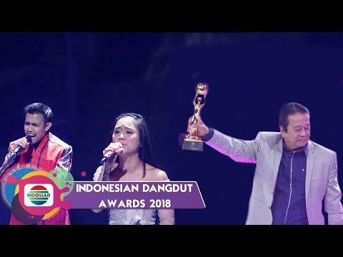 Momen Kebahagian Para Pemenang Indonesian Dangdut Awards 2018