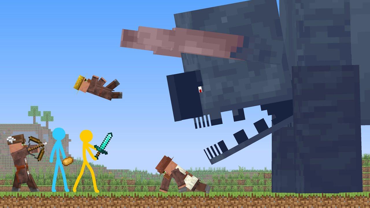 Titan Ravager  Animation vs Minecraft Shorts Ep 23