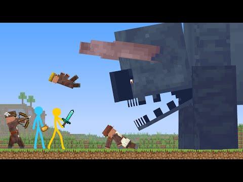 Titan Ravager - Animation vs. Minecraft Shorts Ep 23
