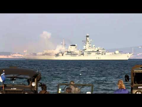 HMS Sutherland to mark 70th anniversary of Battle of Crete at suda bay 2011