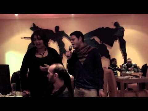 La bohème & She - Karaoke - Alaa Khaled in Tunisia