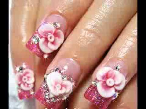 2014 acrylic nail art trends youtube prinsesfo Gallery