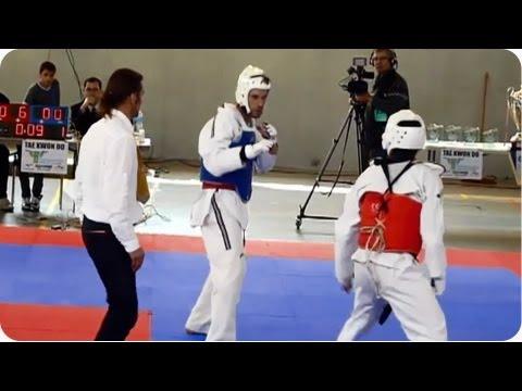 Taekwondo Kick | Referee Gets Smacked