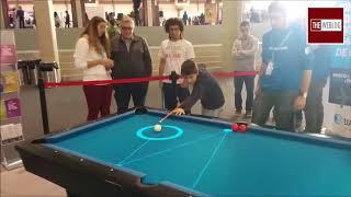 Augmented Reality based Pool Table - The Weblog