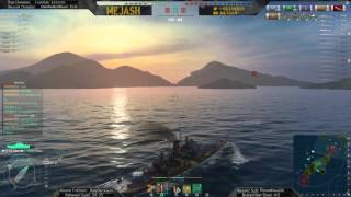 World of Warships: The Salem Witch epic 13 kill game!