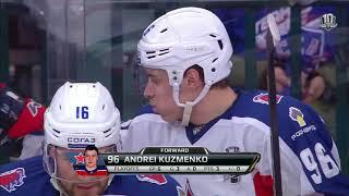Андрей Кузьменко. Три шайбы из пяти армейских.