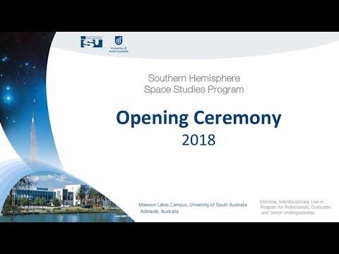 SH-SSP18 Opening Ceremony
