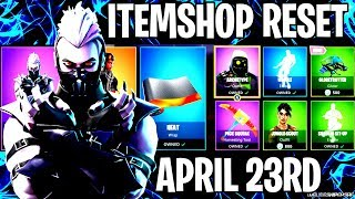 🔴 *NEW* FORTNITE ITEM SHOP RESET NEW SKINS LIVE APRIL 23RD LIVE COUNTDOWN
