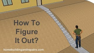 How To Calculate Over All Stair Rise Height On Sloping Hill – Construction Tips
