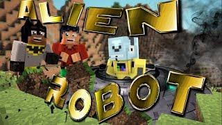 Minecraft: Alien Robot Crash Lands (Superhero Roleplay)