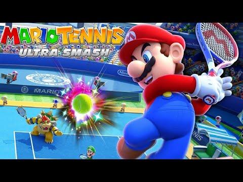 Download Youtube: Mario Tennis: Ultra Smash Walkthrough Part 6 - Knockout Challenge (Unlocking Star Bowser)