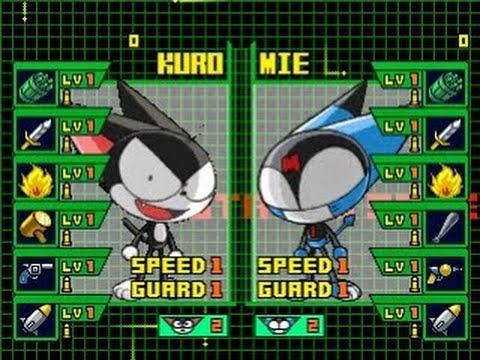 PS1 Game #5: Kaette Kita Cyborg Kuro-chan - gameplay