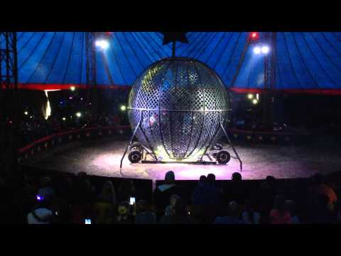 Death Defying in the Death Globe - Motorcycle Act!