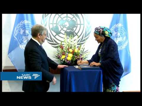 Nigeria's Amina Mohammed sworn in as the 5th Deputy UN SG