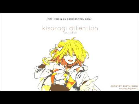Kisaragi Attention [Guitar Outtake] (English Cover)【JubyPhonic】如月アテンション