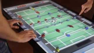 3D Multitouch Foosball