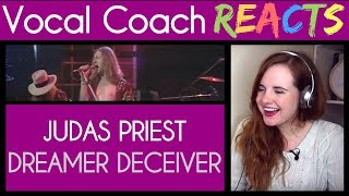 Vocal Coach Reacts To Judas Priest Dreamer Deceiver Deceiver BBC Performance