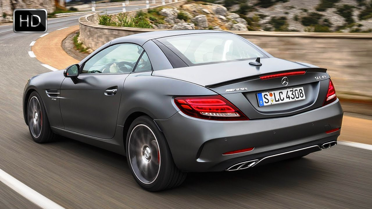 2017 mercedes benz slc 300 designo cerussite grey magno for Mercedes benz slk 300
