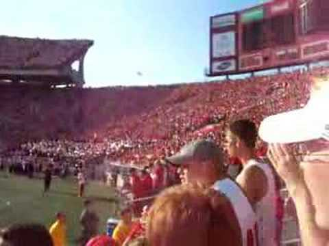 Wisconsin Student Section tradition