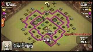 Pl@g@s Vs Fire Slashers / Clash of Clans