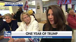 Breakfast with 'Friends': Reflecting on Trump's first year